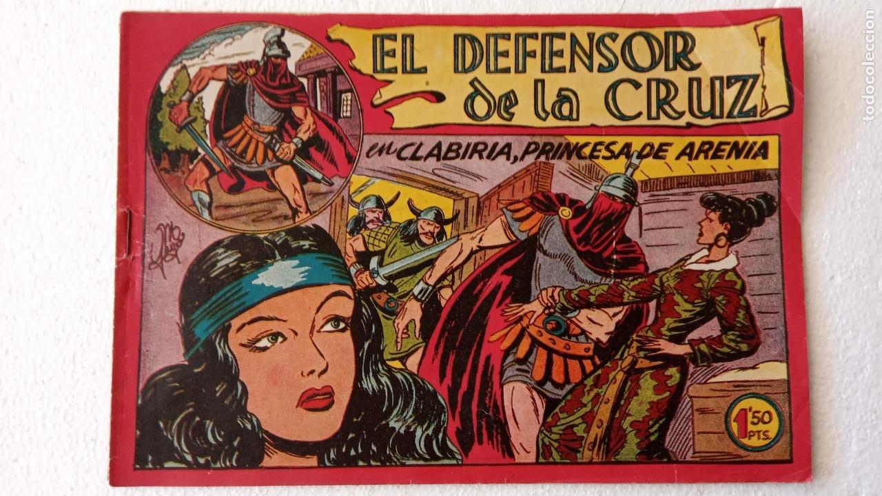 Tebeos: EL DEFENSOR DE LA CRUZ ORIGINAL - MAGA 1956 -32 NºS, 54,52,51,49,47,45, 33 A 40, 19 A 31, 15,14,6,5 - Foto 39 - 233984545