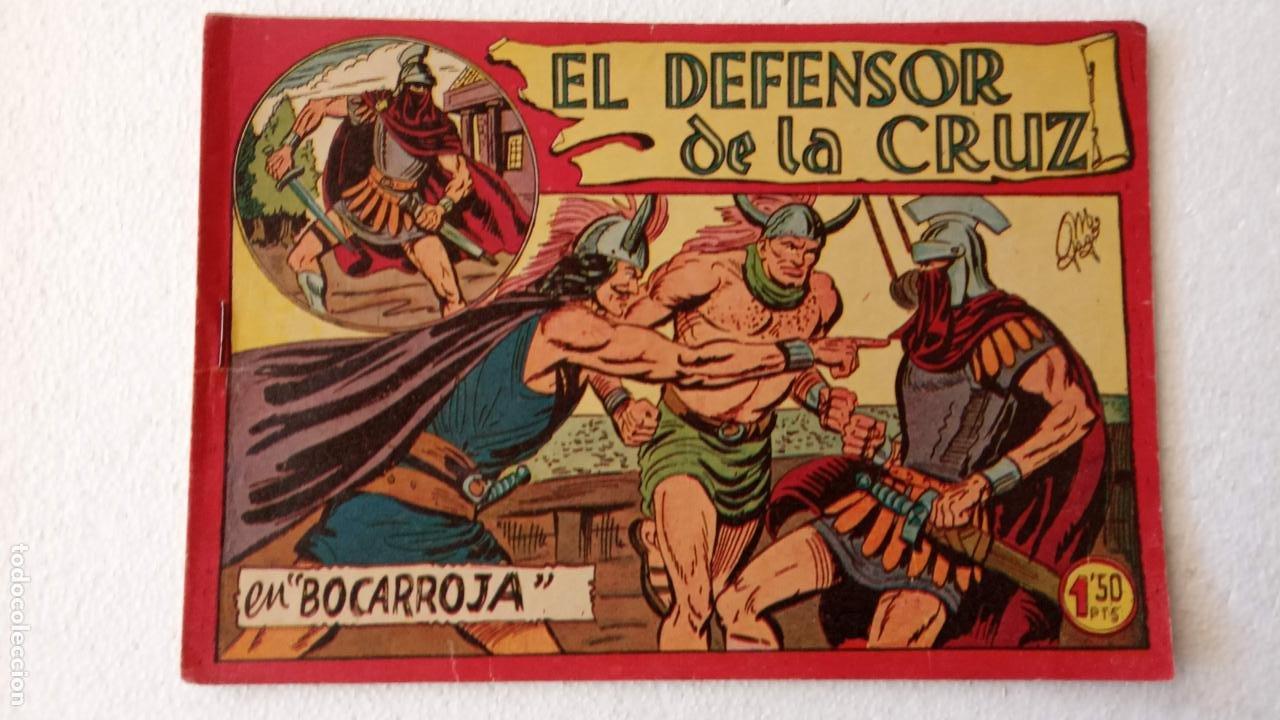 Tebeos: EL DEFENSOR DE LA CRUZ ORIGINAL - MAGA 1956 -32 NºS, 54,52,51,49,47,45, 33 A 40, 19 A 31, 15,14,6,5 - Foto 41 - 233984545