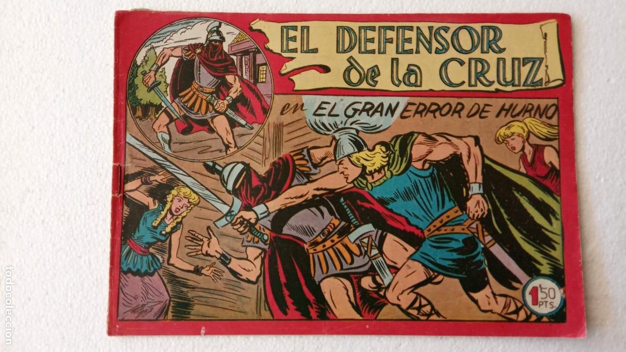 Tebeos: EL DEFENSOR DE LA CRUZ ORIGINAL - MAGA 1956 -32 NºS, 54,52,51,49,47,45, 33 A 40, 19 A 31, 15,14,6,5 - Foto 43 - 233984545