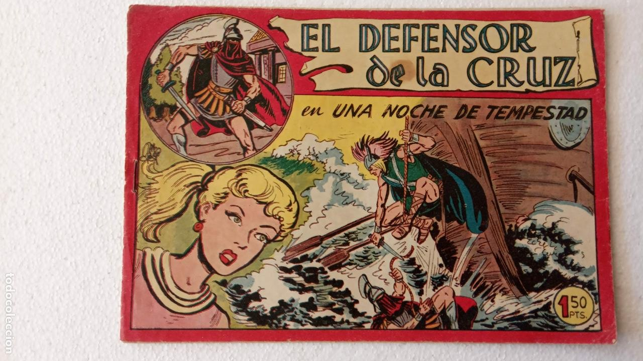 Tebeos: EL DEFENSOR DE LA CRUZ ORIGINAL - MAGA 1956 -32 NºS, 54,52,51,49,47,45, 33 A 40, 19 A 31, 15,14,6,5 - Foto 46 - 233984545