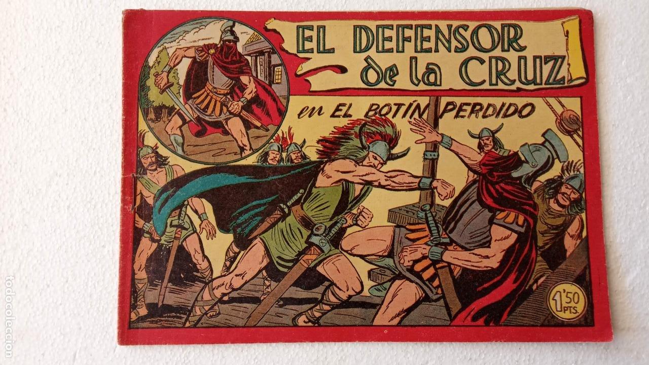 Tebeos: EL DEFENSOR DE LA CRUZ ORIGINAL - MAGA 1956 -32 NºS, 54,52,51,49,47,45, 33 A 40, 19 A 31, 15,14,6,5 - Foto 47 - 233984545