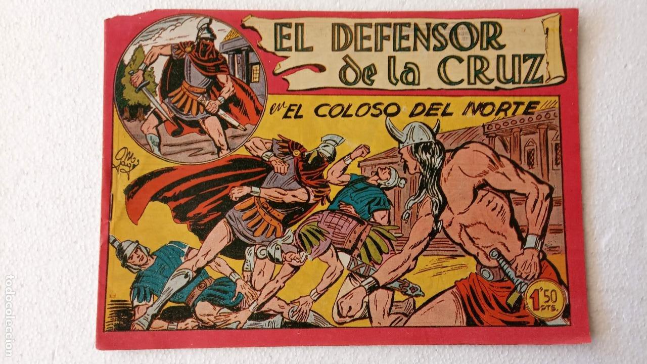 Tebeos: EL DEFENSOR DE LA CRUZ ORIGINAL - MAGA 1956 -32 NºS, 54,52,51,49,47,45, 33 A 40, 19 A 31, 15,14,6,5 - Foto 48 - 233984545