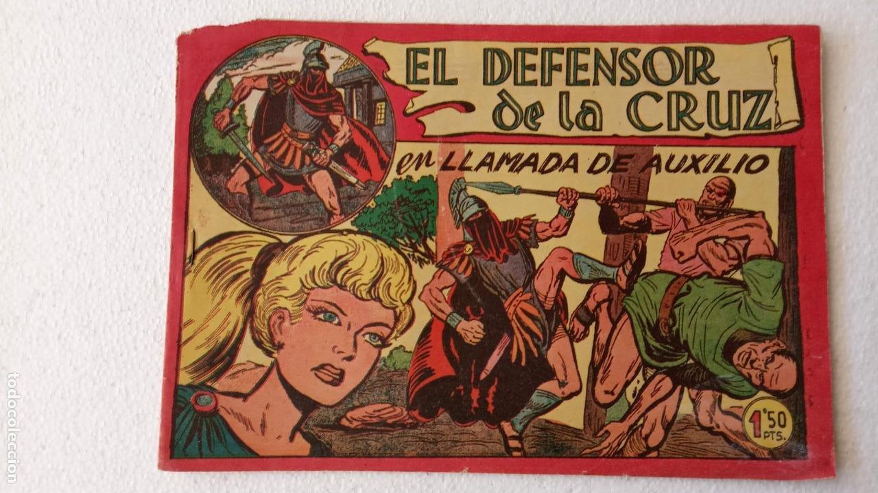 Tebeos: EL DEFENSOR DE LA CRUZ ORIGINAL - MAGA 1956 -32 NºS, 54,52,51,49,47,45, 33 A 40, 19 A 31, 15,14,6,5 - Foto 49 - 233984545