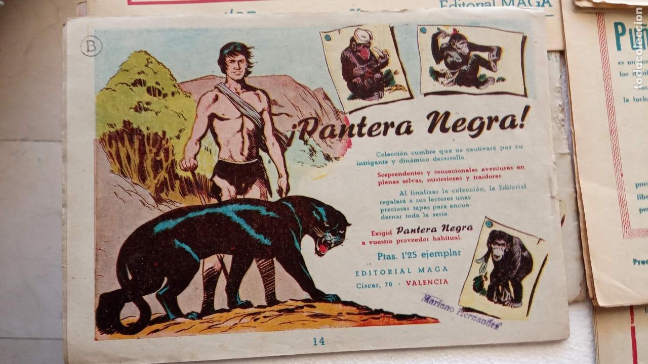 Tebeos: EL DEFENSOR DE LA CRUZ ORIGINAL - MAGA 1956 -32 NºS, 54,52,51,49,47,45, 33 A 40, 19 A 31, 15,14,6,5 - Foto 50 - 233984545