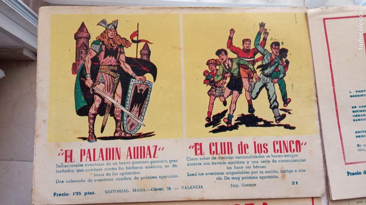 Tebeos: EL DEFENSOR DE LA CRUZ ORIGINAL - MAGA 1956 -32 NºS, 54,52,51,49,47,45, 33 A 40, 19 A 31, 15,14,6,5 - Foto 51 - 233984545