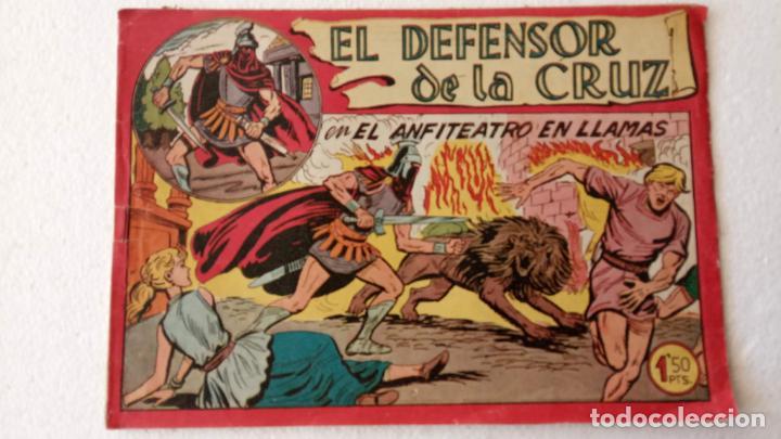 Tebeos: EL DEFENSOR DE LA CRUZ ORIGINAL - MAGA 1956 -32 NºS, 54,52,51,49,47,45, 33 A 40, 19 A 31, 15,14,6,5 - Foto 52 - 233984545