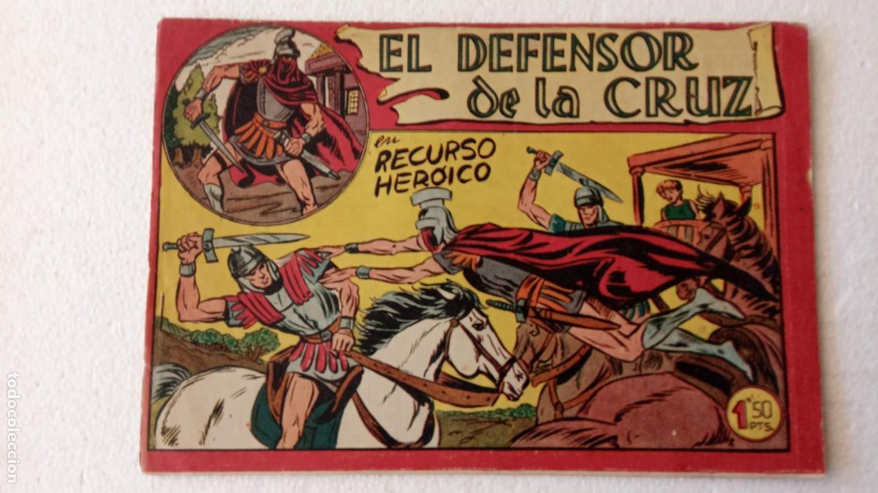Tebeos: EL DEFENSOR DE LA CRUZ ORIGINAL - MAGA 1956 -32 NºS, 54,52,51,49,47,45, 33 A 40, 19 A 31, 15,14,6,5 - Foto 53 - 233984545
