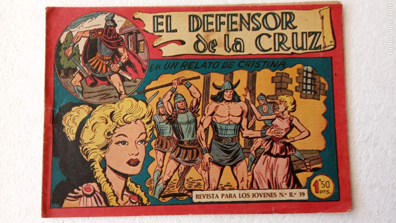 Tebeos: EL DEFENSOR DE LA CRUZ ORIGINAL - MAGA 1956 -32 NºS, 54,52,51,49,47,45, 33 A 40, 19 A 31, 15,14,6,5 - Foto 54 - 233984545