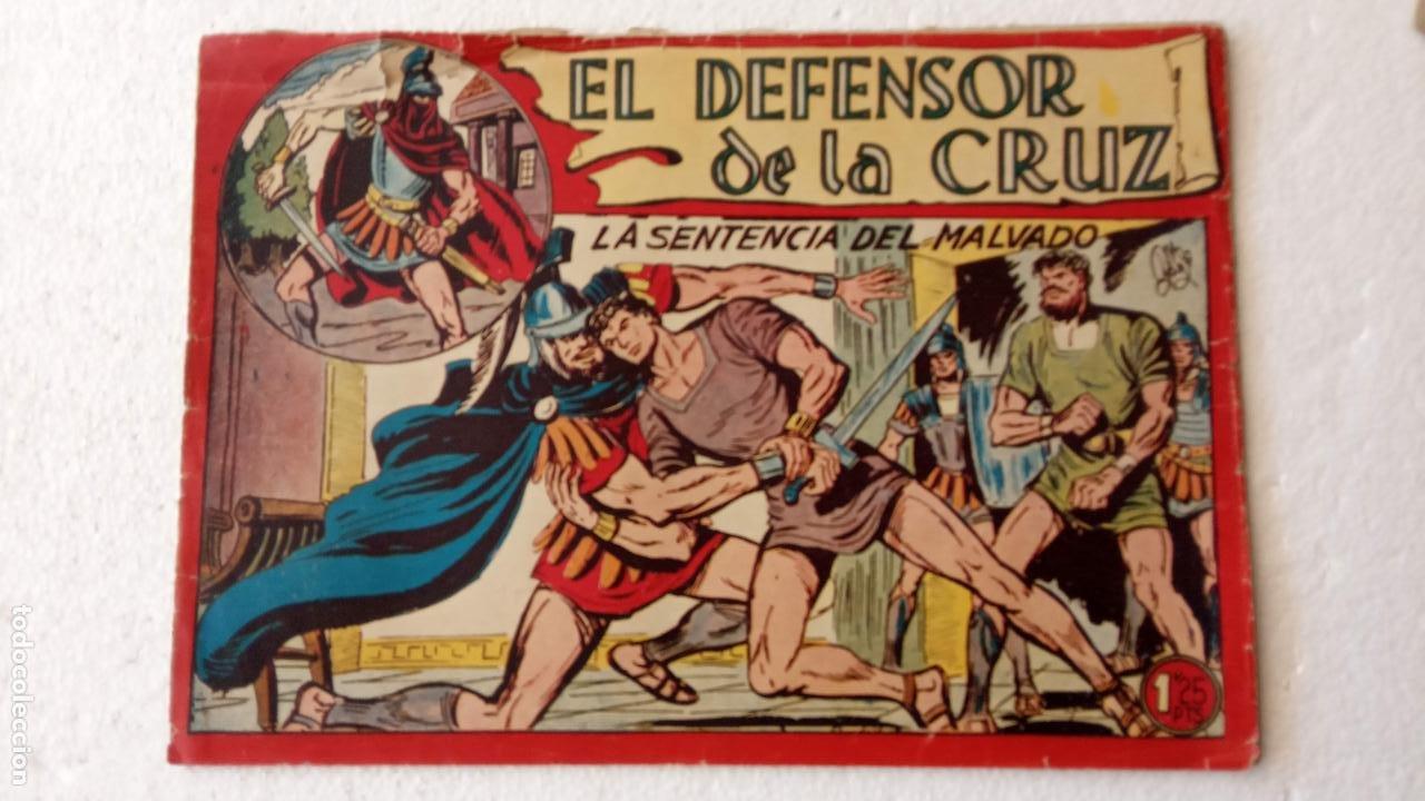 Tebeos: EL DEFENSOR DE LA CRUZ ORIGINAL - MAGA 1956 -32 NºS, 54,52,51,49,47,45, 33 A 40, 19 A 31, 15,14,6,5 - Foto 57 - 233984545