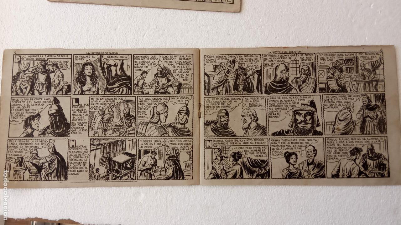 Tebeos: EL DEFENSOR DE LA CRUZ ORIGINAL - MAGA 1956 -32 NºS, 54,52,51,49,47,45, 33 A 40, 19 A 31, 15,14,6,5 - Foto 62 - 233984545