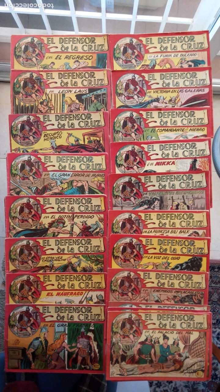EL DEFENSOR DE LA CRUZ ORIGINAL - MAGA 1956 -32 NºS, 54,52,51,49,47,45, 33 A 40, 19 A 31, 15,14,6,5 (Tebeos y Comics - Maga - Otros)