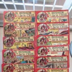 Tebeos: EL DEFENSOR DE LA CRUZ ORIGINAL - MAGA 1956 -32 NºS, 54,52,51,49,47,45, 33 A 40, 19 A 31, 15,14,6,5. Lote 233984545