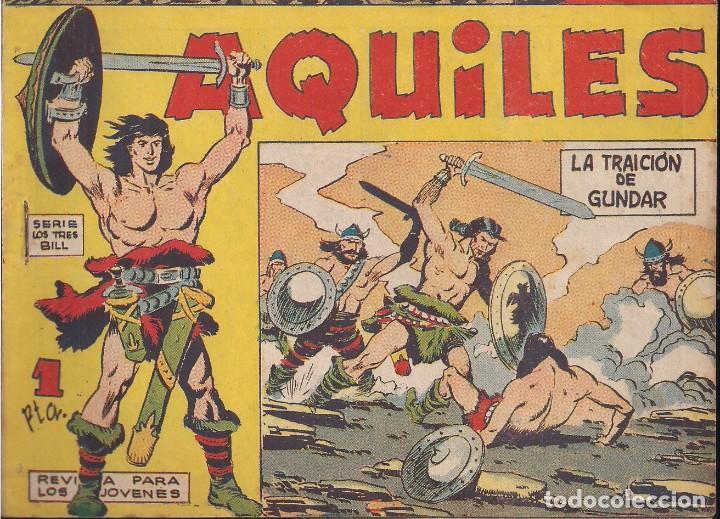 AQUILES Nº 2: LA TRAICIÓN DE GUNDAR (Tebeos y Comics - Maga - Otros)