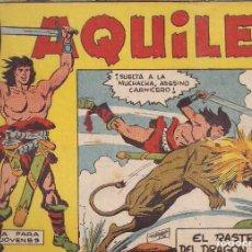 Tebeos: AQUILES Nº 3: EL RASTRO DEL DRAGÓN ROJO. Lote 234031150
