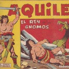 Tebeos: AQUILES Nº 4: EL REY DE LOS GNOMOS. Lote 234031285