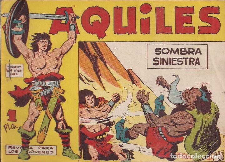 AQUILES Nº 5: SOMBRA SINIESTRA (Tebeos y Comics - Maga - Otros)