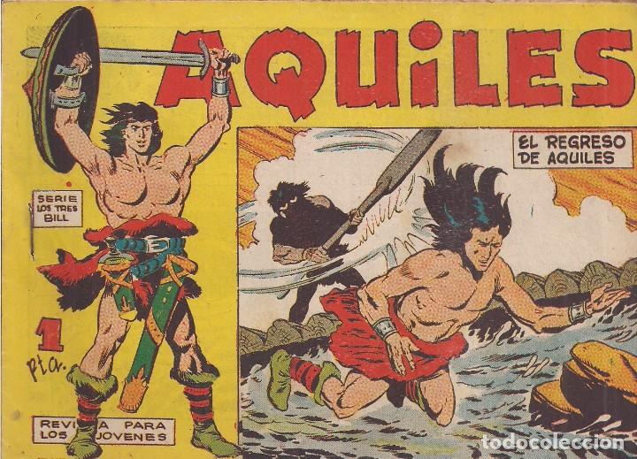 AQUILES Nº 6: EL REGRESO DE AQUILES (Tebeos y Comics - Maga - Otros)