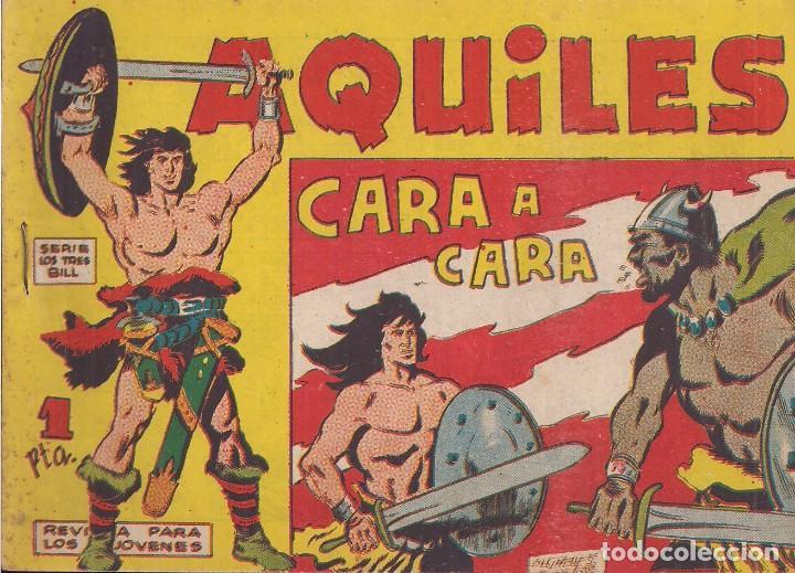 AQUILES Nº 7: CARA A CARA (Tebeos y Comics - Maga - Otros)