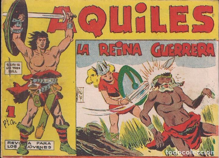 AQUILES Nº 12: LA REINA GUERRERA (Tebeos y Comics - Maga - Otros)
