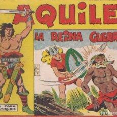 Tebeos: AQUILES Nº 12: LA REINA GUERRERA. Lote 234326215