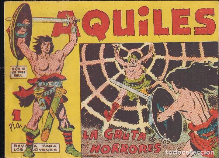 AQUILES Nº 13: LA GRUTA DE LOS HORRORES (Tebeos y Comics - Maga - Otros)