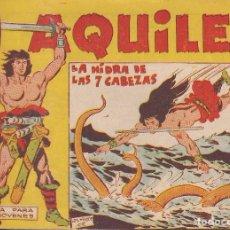 Tebeos: AQUILES Nº 17: LA HIDRA DE LAS 7 CABEZAS. Lote 234326890