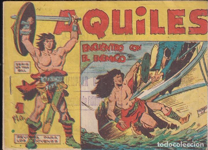 AQUILES Nº 19: ENCUENTRO CON EL ENEMIGO (Tebeos y Comics - Maga - Otros)