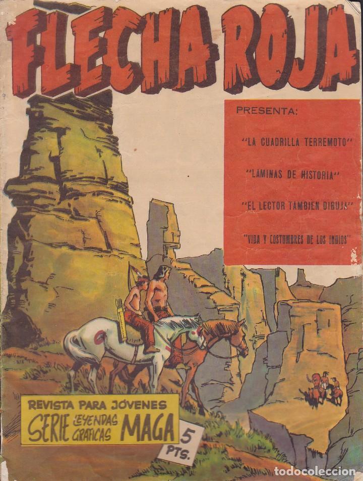 COMIC COLECCION FLECHA ROJA Nº 5 REVISTA (Tebeos y Comics - Maga - Flecha Roja)
