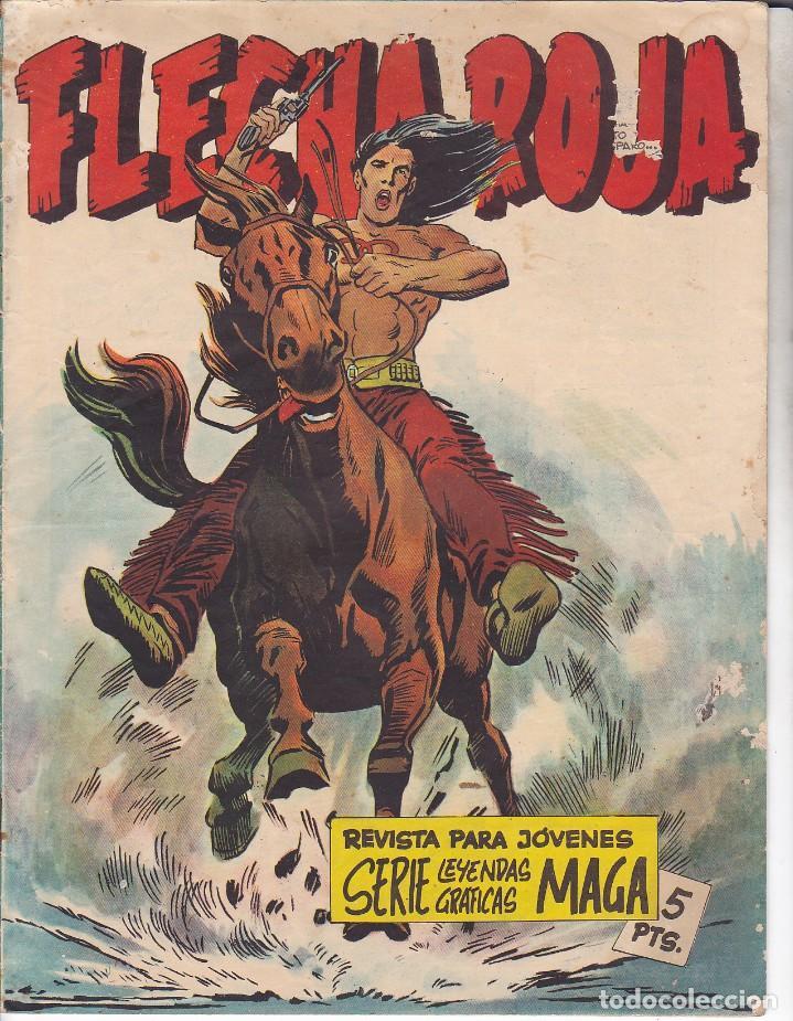 COMIC COLECCION FLECHA ROJA Nº 1 REVISTA (Tebeos y Comics - Maga - Flecha Roja)