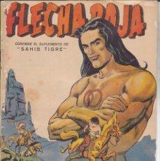 Tebeos: COMIC COLECCION FLECHA ROJA Nº 15 REVISTA CON SUPLEMETO SAHIB TIGRE. Lote 234437235