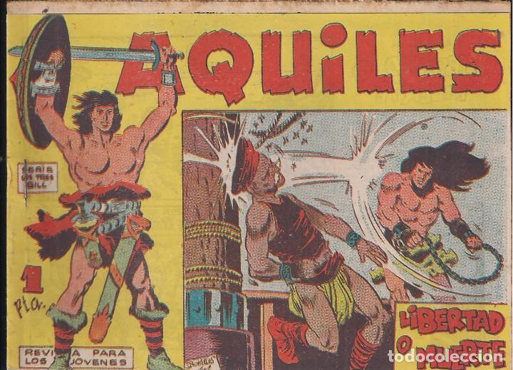 AQUILES Nº 22: LIBERTAD O MUERTE (Tebeos y Comics - Maga - Otros)