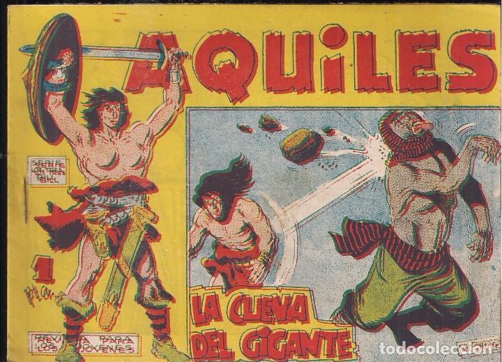 AQUILES Nº 31: LA CUEVA DEL GIGANTE (Tebeos y Comics - Maga - Otros)