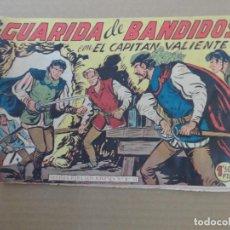 Livros de Banda Desenhada: EL CAPITAN VALIENTE Nº 22 ULTIMO NUMERO EDITORIAL MAGA ORIGINAL. Lote 234689360