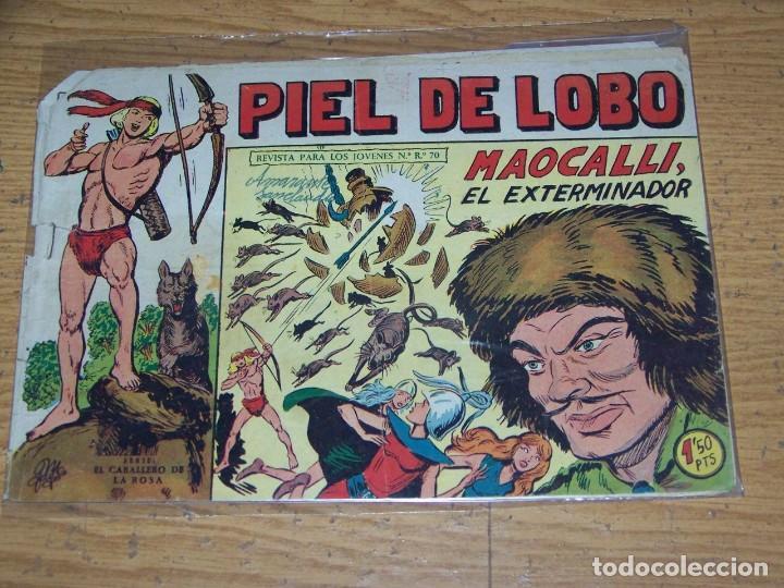 MAGA PIEL LOBO ORIGINAL 51 (Tebeos y Comics - Maga - Piel de Lobo)