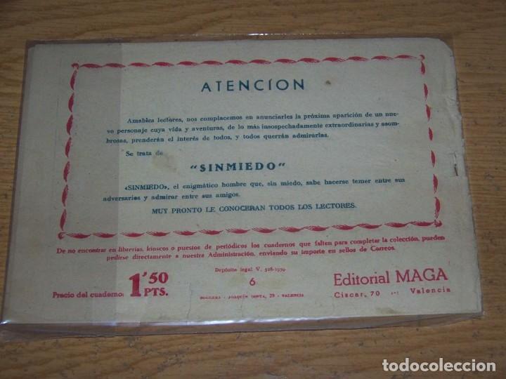 Tebeos: MAGA PIEL LOBO ORIGINAL 6 - Foto 2 - 234836380