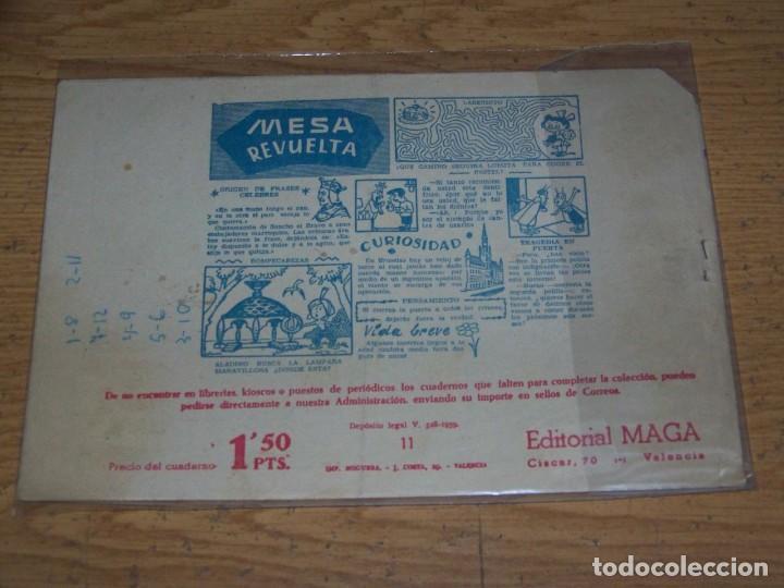 Tebeos: MAGA PIEL LOBO ORIGINAL 11 - Foto 2 - 234836890