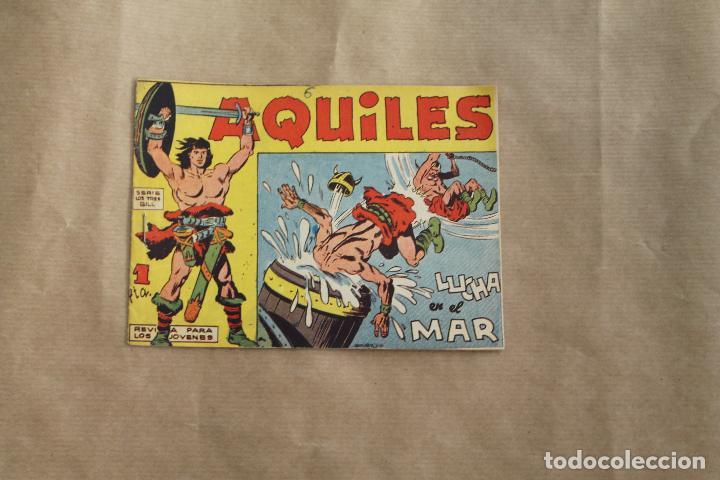 AQUILES Nº 9, EDITORIAL MAGA (Tebeos y Comics - Maga - Otros)