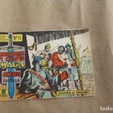Tebeos: CORAZA DE CASTILLA Nº 13, EDITORIAL MAGA. Lote 235508005