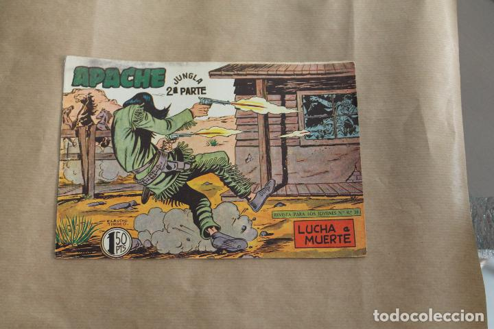 APACHE Nº 43 2 ª PARTE , EDITORIAL MAGA (Tebeos y Comics - Maga - Apache)