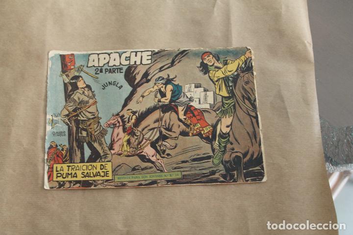 APACHE Nº 11 2 ª PARTE , EDITORIAL MAGA (Tebeos y Comics - Maga - Apache)