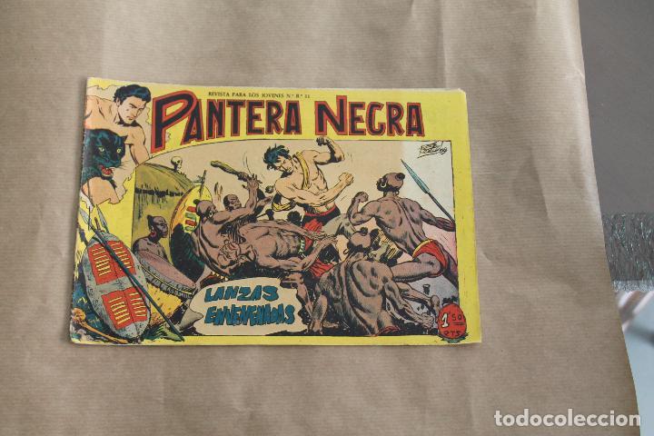 PANTERA NEGRA Nº 2, DE 1,50 PTAS, EDITORIAL MAGA (Tebeos y Comics - Maga - Pantera Negra)