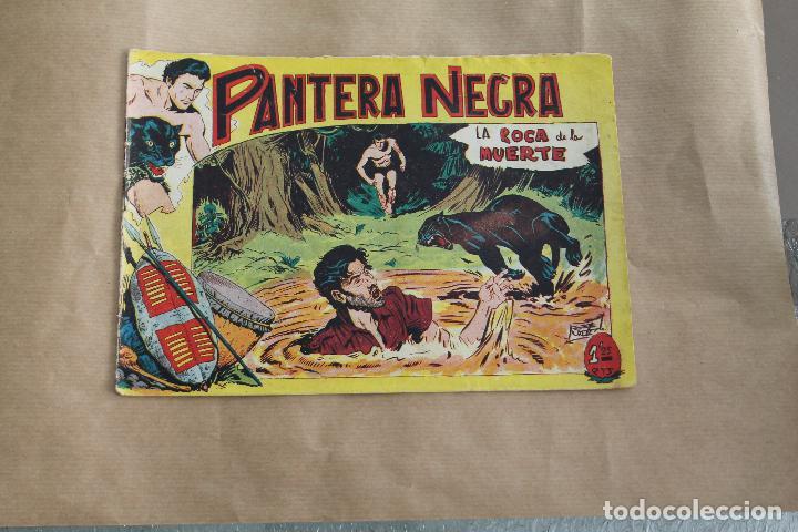 PANTERA NEGRA Nº 6, DE 1,25 PTAS, EDITORIAL MAGA (Tebeos y Comics - Maga - Pantera Negra)