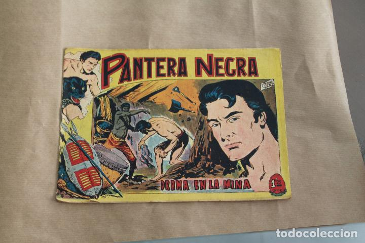 PANTERA NEGRA Nº 11, DE 1,25 PTAS, EDITORIAL MAGA (Tebeos y Comics - Maga - Pantera Negra)