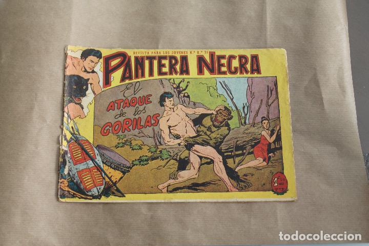 PANTERA NEGRA Nº 20, DE 1,50 PTS, EDITORIAL MAGA (Tebeos y Comics - Maga - Pantera Negra)