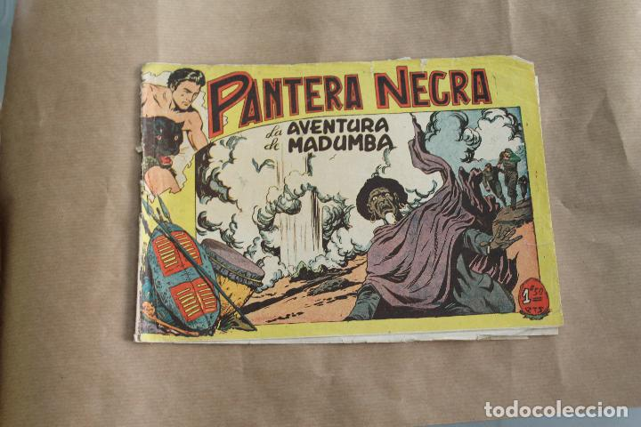 PANTERA NEGRA Nº 36, DE 1,50 PTS, EDITORIAL MAGA (Tebeos y Comics - Maga - Pantera Negra)