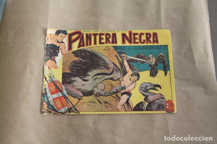 PANTERA NEGRA Nº 46, DE 1,50 PTS, EDITORIAL MAGA (Tebeos y Comics - Maga - Pantera Negra)