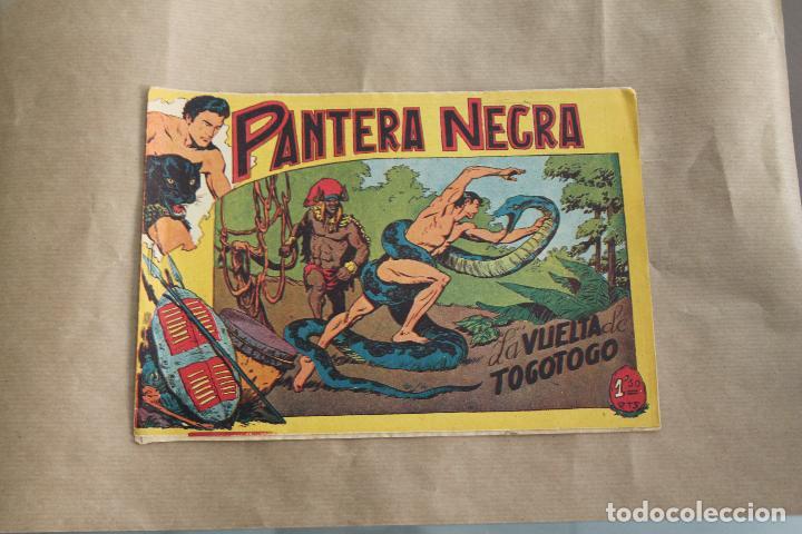 PANTERA NEGRA Nº 40, DE 1,50 PTS, EDITORIAL MAGA (Tebeos y Comics - Maga - Pantera Negra)