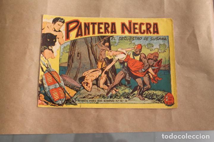 PANTERA NEGRA Nº 44, DE 1,50 PTS, EDITORIAL MAGA (Tebeos y Comics - Maga - Pantera Negra)