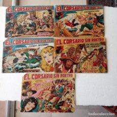 Tebeos: EL COSARIO SIN ROSRO ORIGINALES 1919 MAGA - NºS - 3,9,11,22,31- MANUEL GAGO DIBUJOS. Lote 235838605