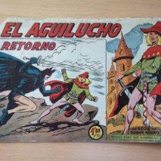 Livros de Banda Desenhada: EL AGUILUCHO Nº 68 EL RETORNO. ORIGINAL DE 1959. EDITORIAL MAGA. NÚMERO FINAL DE LA COLECCIÓN. Lote 128548099